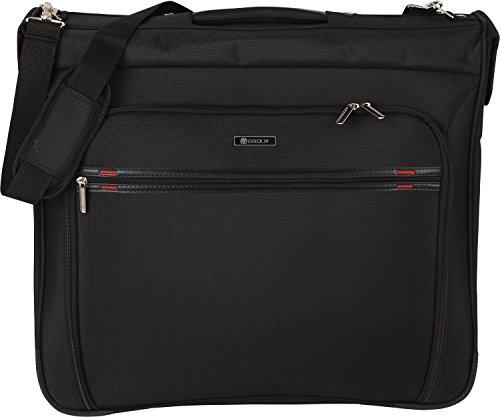CheckIn Bonn Business Housse à vêtement 2 roulettes de voyage 55 cm noir