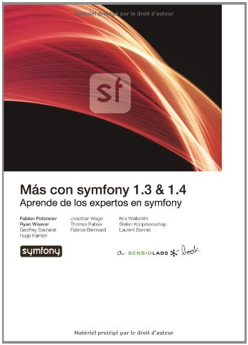 Más con symfony por Fabien Potencier