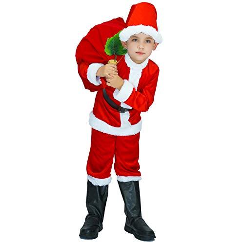 Sea Hare Costume da Babbo Natale in Maschera di Babbo Natale (S:4-6 Anni)