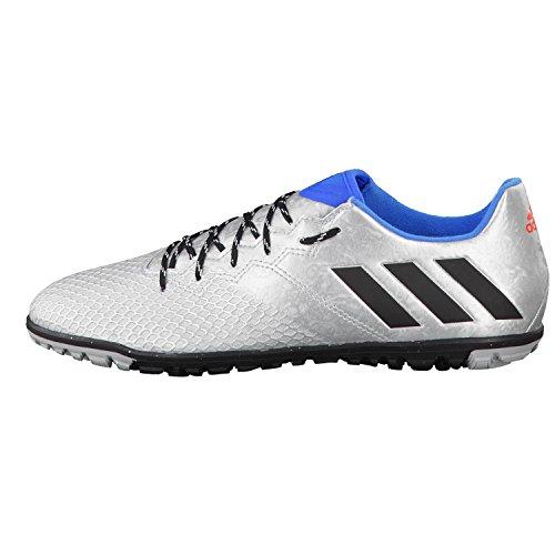 adidas Messi 16.3 TF, Chaussures de Foot Homme Plata (Plamet / Negbas / Azuimp)