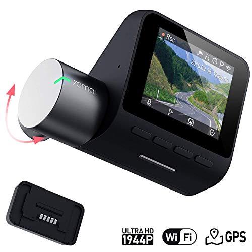 70mai Pro Dashcam 1944P FHD Wi-Fi Autokamera mit Nachtsicht, GPS-Modul, Parküberwachung, 140° Weitwinkelobjektiv