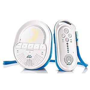 Philips Avent SCD505/00 DECT Babyphone (Smart Eco Mode, Schlaflieder)