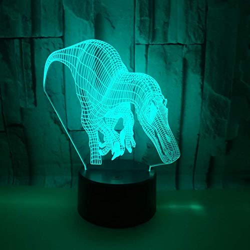 XINGXIAOYU Lighthouse Model 3D Led Night Light 7 Color Change Mood Lamp USB 3D Illusion Table Lamp for Home Decorative -
