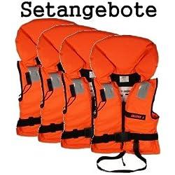 4 Rettungswesten aus der Bootskiste ~ Größe wählbar 15 bis über 90 Kg