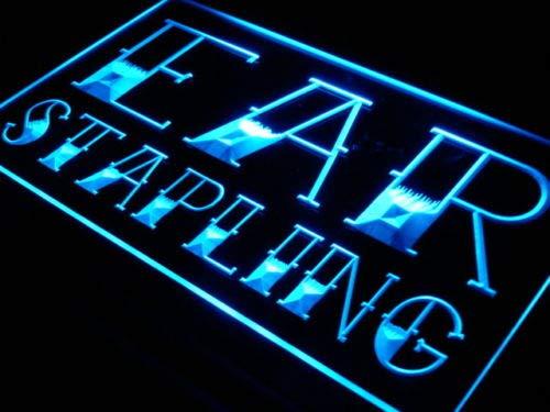 Jintora - Neon Sign - señal neón - Ear Stapling