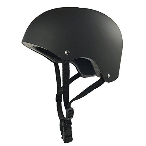 Eizur Casco di sicurezza Bambini per hoverboard, scooter, BMX e bicicletta (Nero)