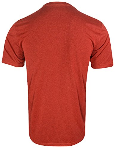 Nike pour homme Dry Legend 2Tee Rouge (Dark Cayenne / Max Orange / Htr / Matte Silver)