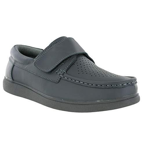 Dek Unisex Klettverschluss Bowling Schuhe (9 UK/43 EU) (Grau)