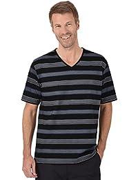 Trigema T-shirt col V coton DELUXE