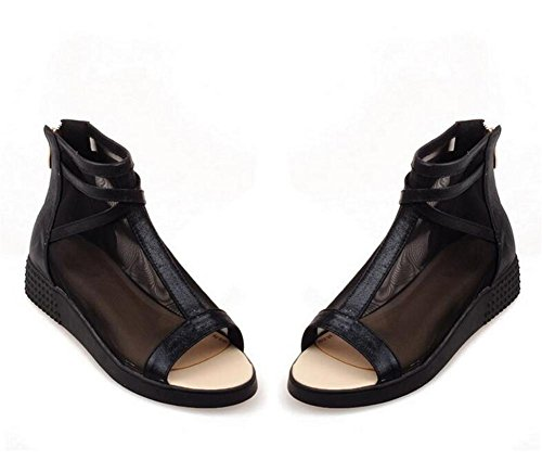 ldmb-sandales-peep-toe-casual-filet-net-apres-fermeture-a-glissiere-plate-respirant-confortables-bot