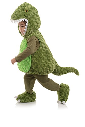 Belly Babies T-Rex Green Dinosaur Toddler Costume M 12-24 ()