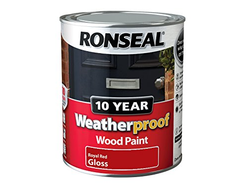 ronseal-wprrg750-750-ml-10-year-weatherproof-exterior-gloss-wood-paint-red
