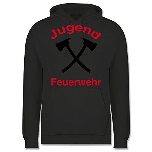 feuerwehr namen child Shirtracer Feuerwehr - Jugend Feuerwehr - XL - Anthrazit - JH001 - Herren Hoodie