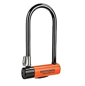 Kryptonite Evolution Série 4 STD Câble d'antivol Noir/Orange 14 mm