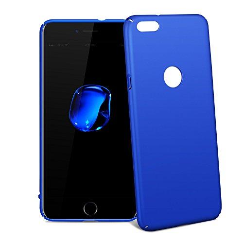 Coque iPhone 6 Plus / 6s Plus, Riffue® Housse Etui PC Dur Plastique [Ultra Slim], [Ultra Léger] Robuste Anti-Choc, Anti-dérapante Couverture Arrière Protection Case Cover pour Apple iPhone 6 Plus / 6s Bleu