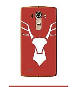 Fuson Designer Back Case Cover for LG G4 :: LG G4 Dual LTE :: LG G4 H818P H818N :: LG G4 H815 H815TR H815T H815P H812 H810 H811 LS991 VS986 US991 (rain dear animal wild forest jungle)