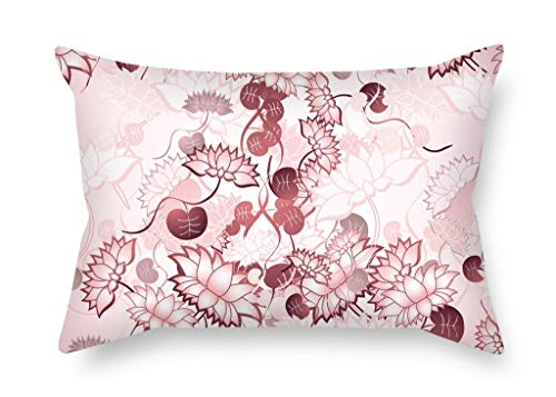 beautifulseason Flower Christmas Pillow Cases 16 X 24 Inches/40 by 60 Cm for Dance Room Him Kids Girls Study Room Kids Car with Double Sides