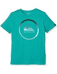 Quiksilver Ssclateythmomen Camiseta, Niño, Viridine Green, FR : 10 Ans (Taille Fabricant : S)