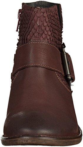 Spm Calvados Ankle Boot, Bottes Classiques femme Burgundy