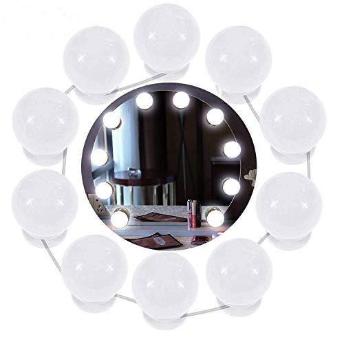 Cozywind Luces Espejo Tocador LED Kit 10 Bombillas