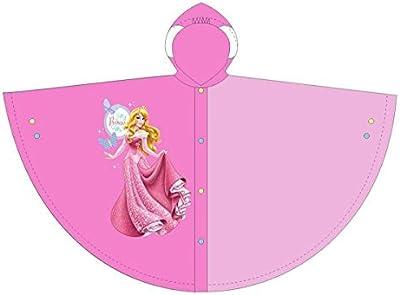 Disney - Abrigo impermeable - capa - para niña, Rosa, 2 años