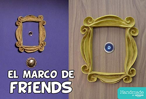 LaRetrotienda - el MARCO de FRIENDS con acabado VINTAGE, la serie Friends de tv.