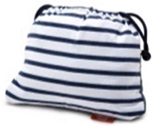 Baby-To-Love Chaise Nomade, Chaise Haute Portable Réversible et Compacte pour Bébé (Denim Edition)