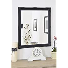 Frames by Post Large 5,1 cm nero shabby chic Style specchio da ...