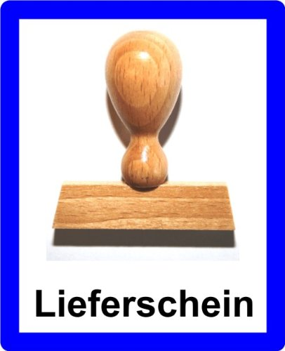 LE-ONs® Holzstempel Professional-Serie L9: Lieferschein
