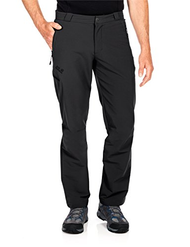 Jack Wolfskin Herren Activate Thermic Pants Men Softshell-Hose, Black, 58 Preisvergleich