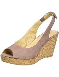 GARDENIA COPENHAGEN Damen Sandal Wedge Slingback