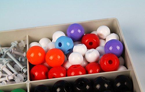 Sharplace Molecular Modell Satz mit Kasten - perfekt für Schulausrüstung und pädagogisches Spielzeug für Kinder