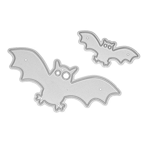 Jaminy Halloween Metall Schneiden stirbt Exquisite Muster Schablonen Scrapbooking Prägung DIY Handwerk (A)