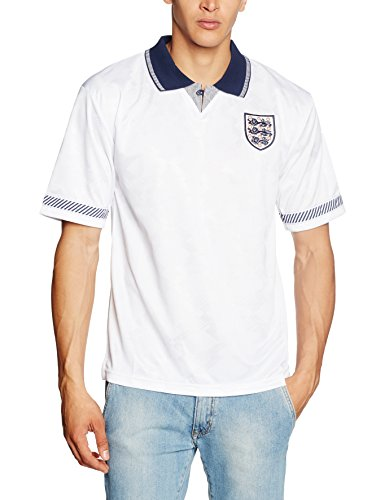 England Men's 1990 World Cup Finals Shirt. Up to 2XL