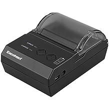 Excelvan Termica Ricevuta POS Stampante 58MM Portatile Senza Fili Bluetooth per Android e Windows