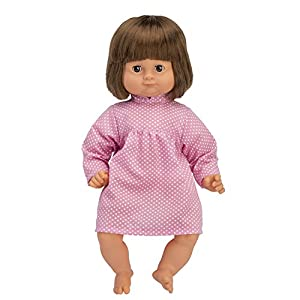 SKRÅLLAN 1611060036cm Oscuro Lillian Hablar muñeca