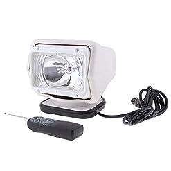 Homyl Lampada HID Xenon HID 35W Luce Di Lavoro Spotlight Con Telecomando Per Auto