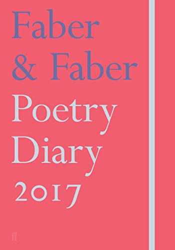 Faber & Faber Poetry Diary 2017 (Diaries 2017)