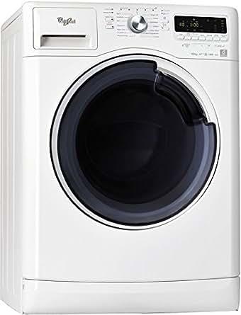 Whirlpool AWOE 41048 Autonome Charge avant 10kg 1400tr/min A+++ Blanc machine à laver - machines à laver (Autonome, Charge avant, Blanc, Gauche, LED, 65 L)
