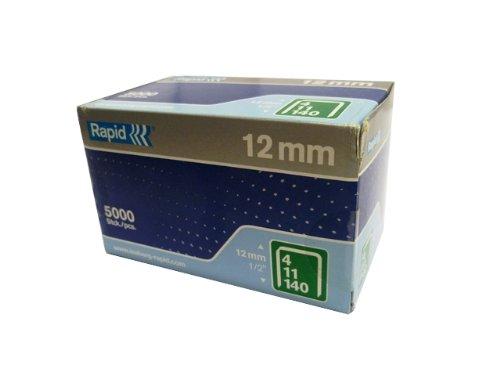 12 mm de Rapid Proline de la série 140 Bulk Pack de 5000 agrafes