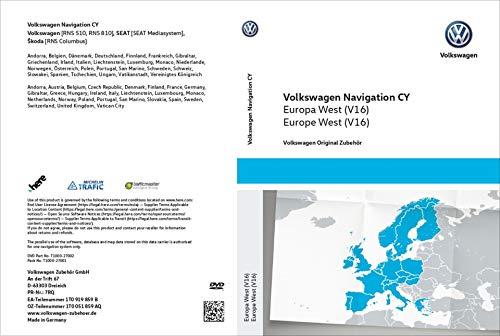 Volkswagen 1T0051859AQ Original DVD-ROM Navegación