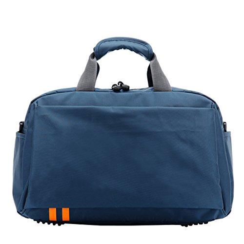 LAIDAYE Travel Duffel Bag Large Foldable Sport Und Fitness Duffle Bag Wasser-Resistant Travel Duffle Bag Mit Abnehmbarem Schultergurt Für Frauen Und Männer 2