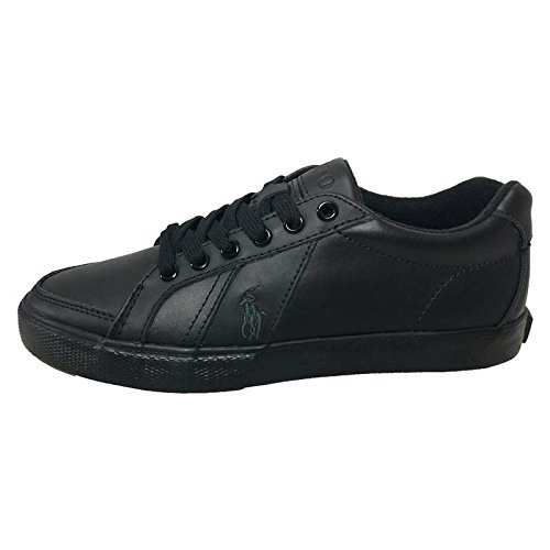 Polo Ralph Lauren Hugh Homme Baskets Mode Noir