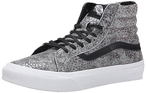 Vans U Sk8-Hi Slim Pebble Snake, Unisex Adults' Low-Top Sneakers, Grey (pebble Snake/gray/black), 6 UK (39 EU)