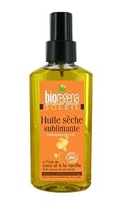 Huile sèche sublimante bio coco vanille 100 ml Bioregena