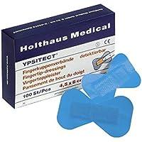 Holthaus Medical YPSITECT Fingerkuppenverband Fingerkuppenpflaster Fingerpflaster, detektierbar, wasserfest, 4,5x8cm... preisvergleich bei billige-tabletten.eu