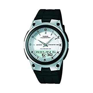 Casio Youth Analog-digital Silver Dial Men's Watch – AW-80-7AVDF (AD59)