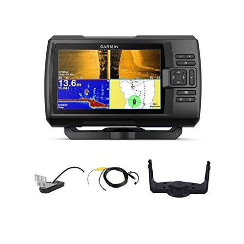 Garmin 010 - 01874 - 01 Striker Plus 7SV - con gt52hw-GEBER Chirp TM Fishfinder