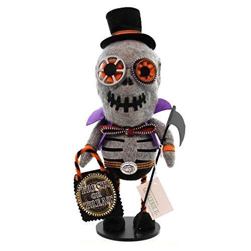 aditionen Trick or Treat mit Halloween-Skelett-Figur, mit Reißverschluss ()