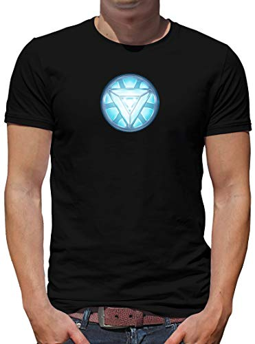 TShirt-People Arc 3 Reactor T-Shirt Herren Stark Iron Tony M Schwarz